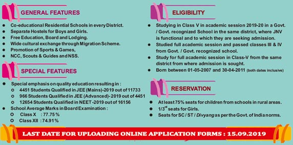 Sst General Eligibility Criteria 2019